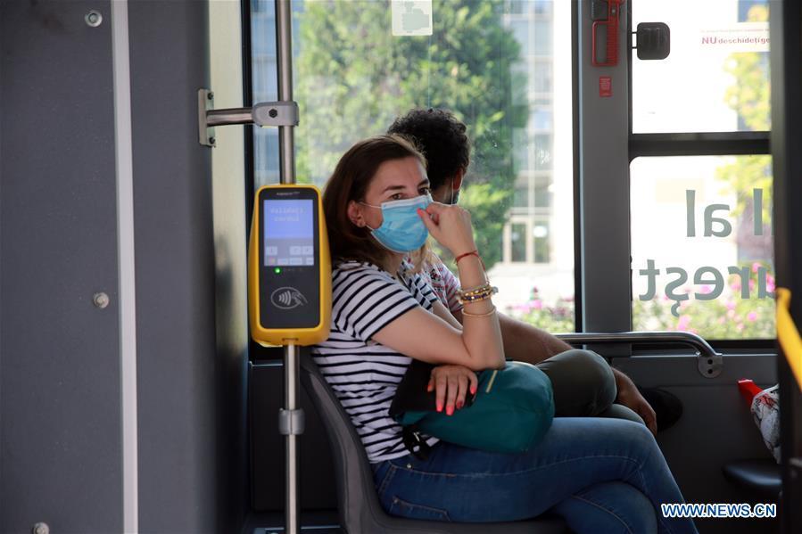 罗马尼亚-布加勒斯特-COVID-19-面具要求