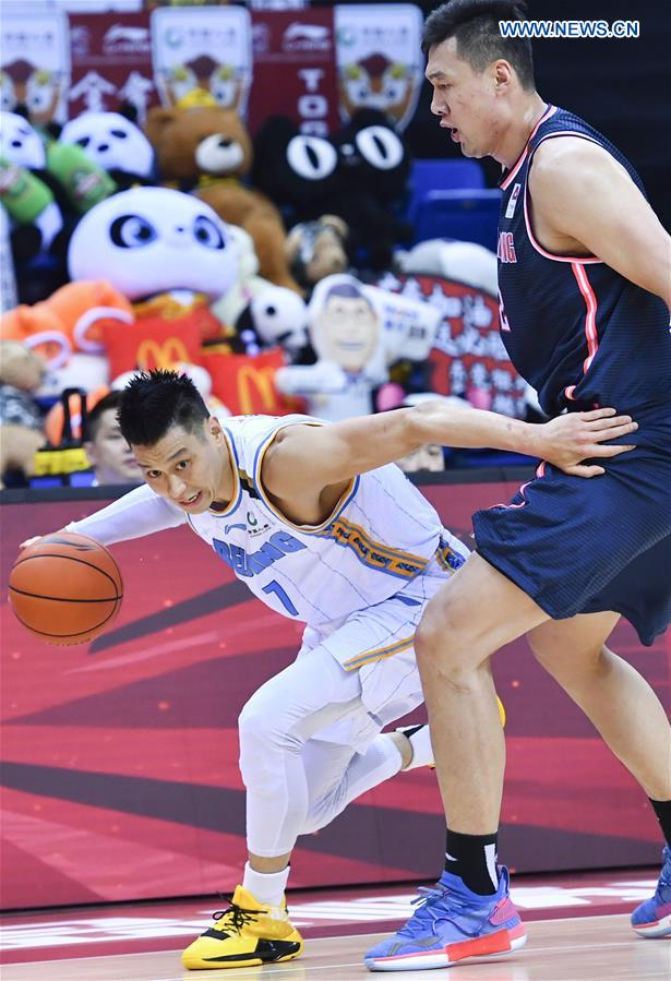(SP)CHINA-QINGDAO-BASKETBALL-CBA LEAGUE (CN)