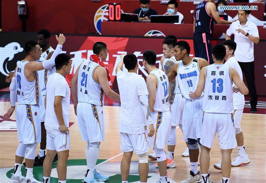 (SP)CHINA-QINGDAO-BASKETBALL-CBA LEAGUE (CN)