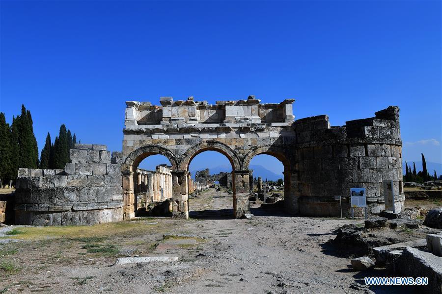 TURKEY-DENIZLI-HIERAPOLIS-HERITAGE