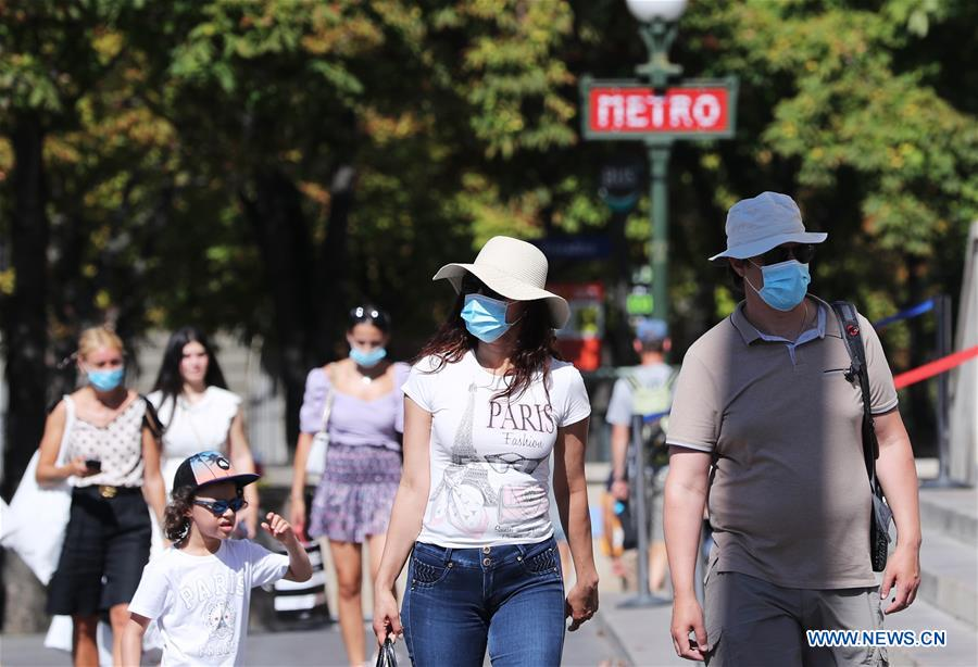 France Reports Biggest Daily Spike Of Coronavirus Cases Since End Of April Xinhua English News Cn