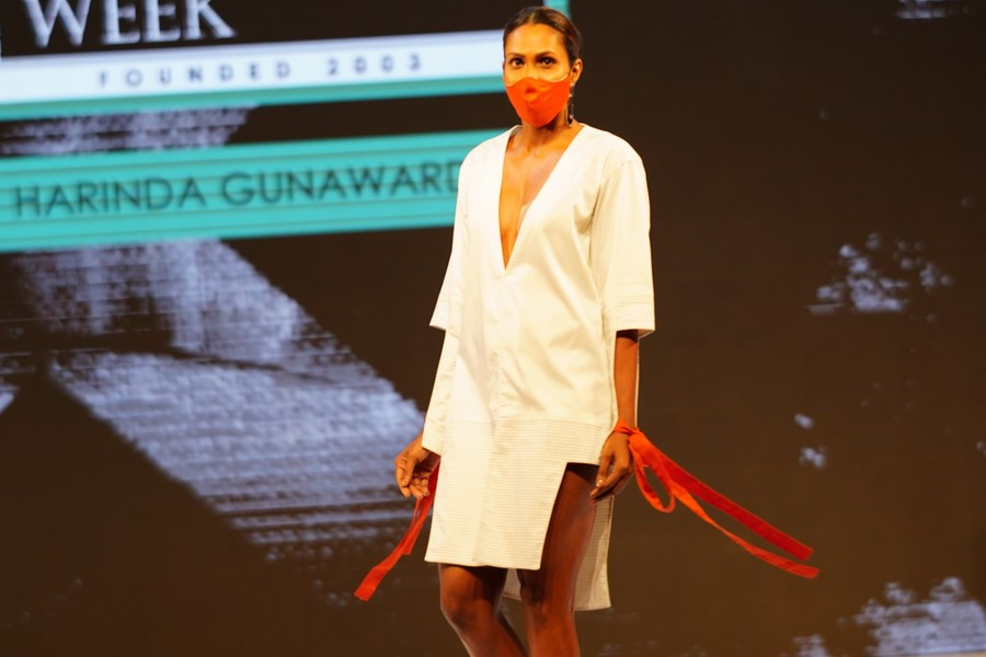 Asia Album Best Looks From Colombo Fashion Week Xinhua English News Cn