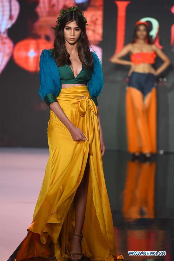 Colombo Fashion Week Held In Colombo Sri Lanka Xinhua English News Cn