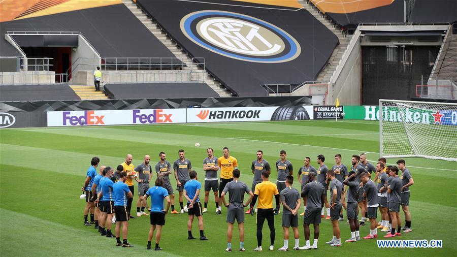 (SP)德国-科隆-UEFA-EUROPA联赛-米兰国际训练