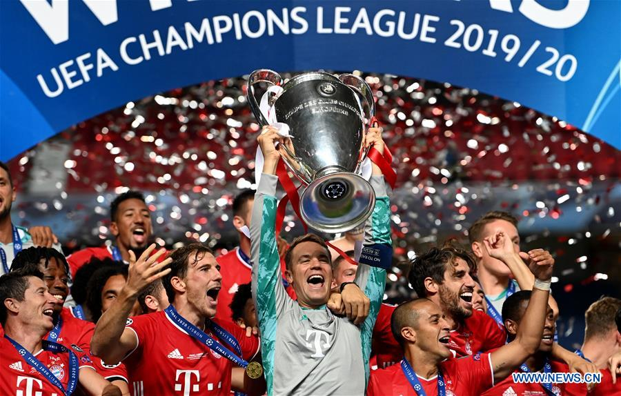 bayern beat psg to win sixth uefa champions league xinhua english news cn www xinhuanet com