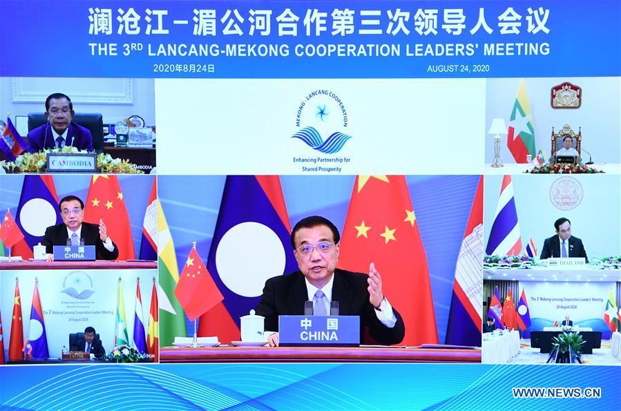 李克強氏、瀾滄江・メコン川協力第3回首脳会議に出席