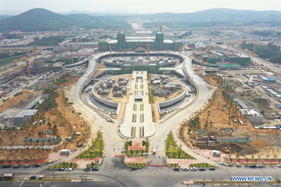 CHINA-FUJIAN-FUZHOU-PINGTAN RAILWAY-CONSTRUCTION (CN)