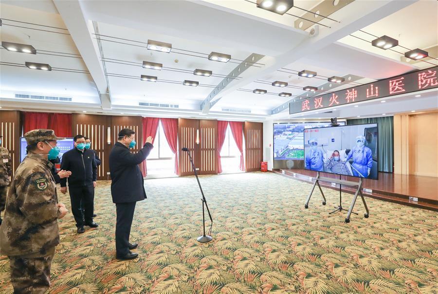 CHINA-XI JINPING-CHRONICLE-LEADERSHIP IN WAR AGAINST CORONAVIRUS (CN)