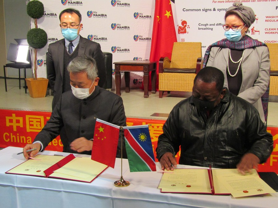 Interview: China sets example for other countries in handling COVID-19, says Namibian minister