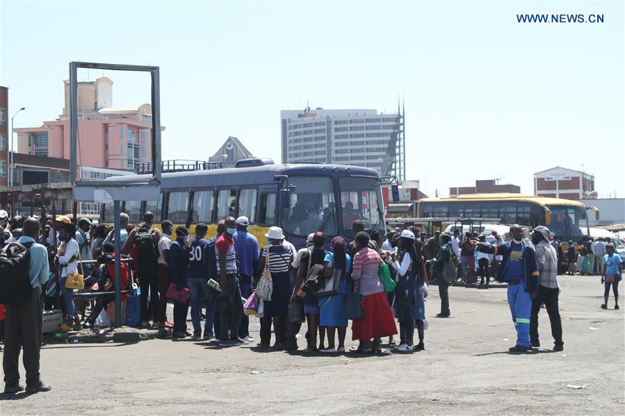 津巴布韦-哈拉雷-公共运输-票价远足