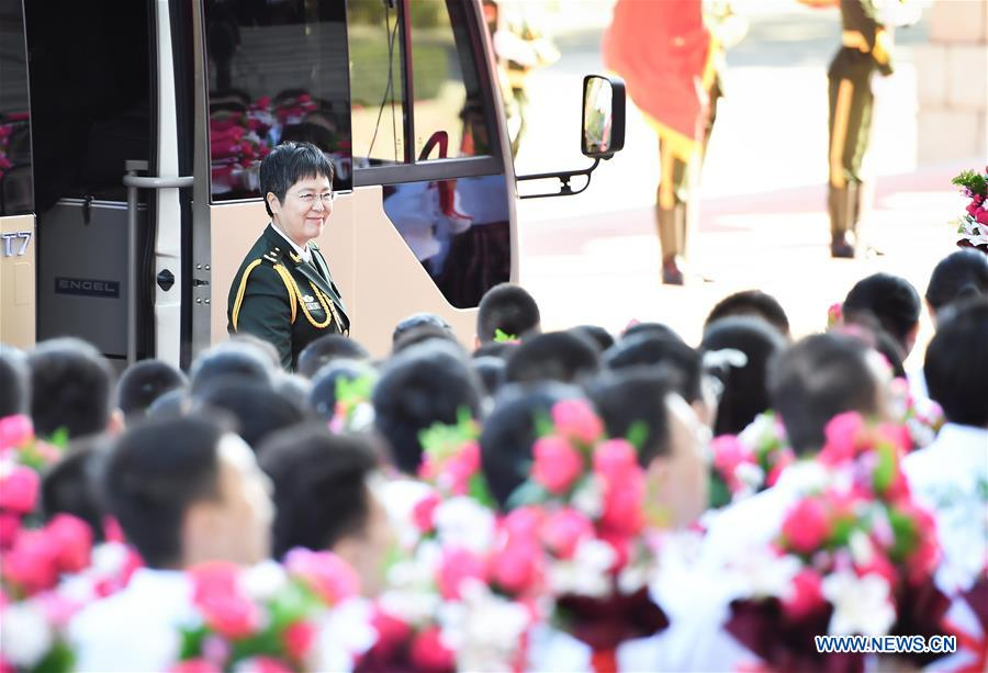 CHINA-BEIJING-COVID-19 FIGHT-ROLE MODELS-COMMENDATION-MEETING (CN)