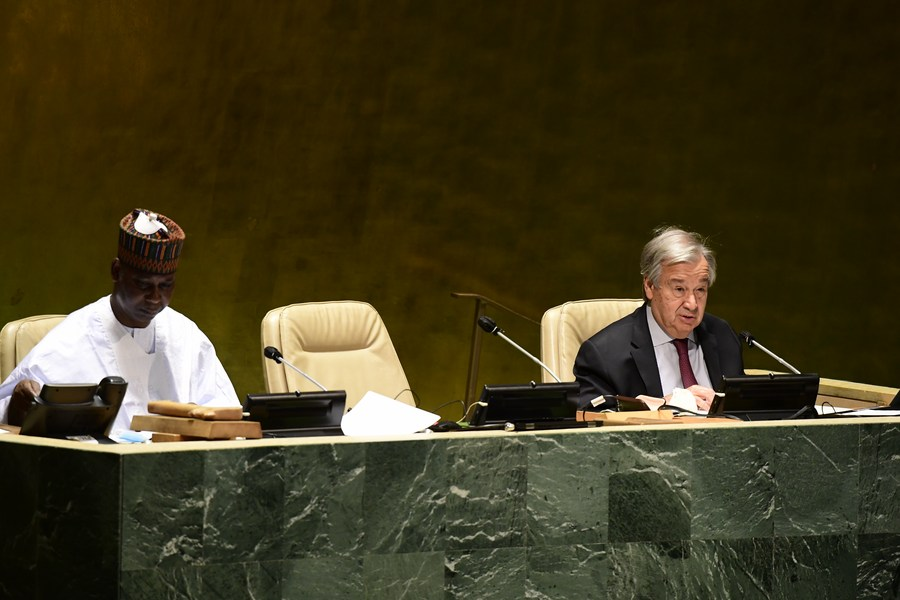 "Guterres warns UN faces its ""1945 moment"" - Xinhua   English.news.cn"