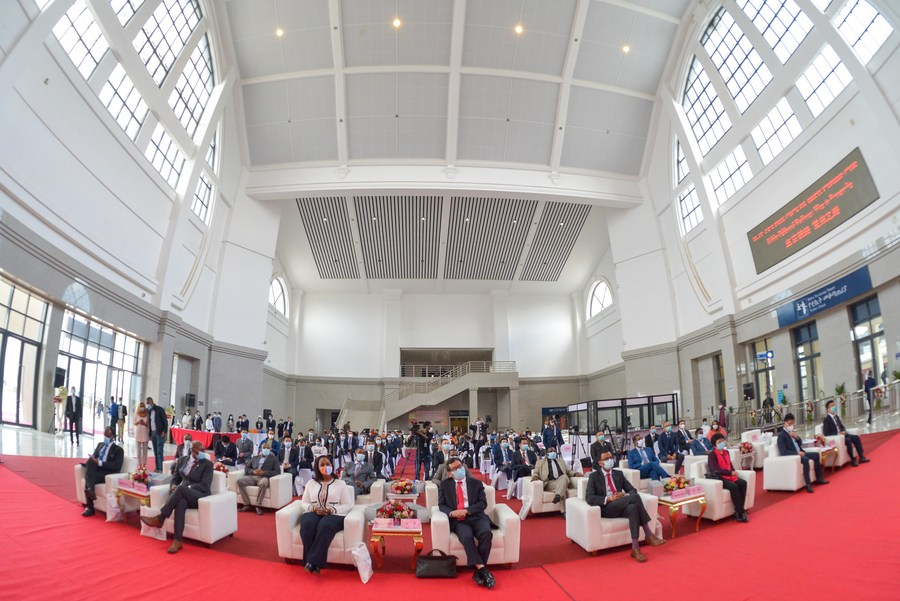 Ethiopian minister commends Chinese-built Ethiopia-Djibouti electrified railway - Xinhua | English.news.cn