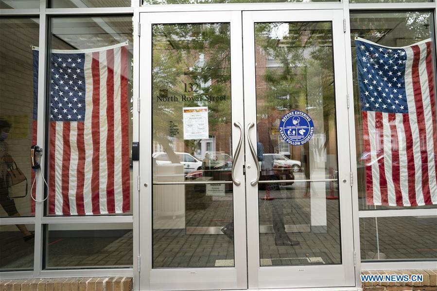 U.S.-VIRGINIA-ALEXANDRIA-EARLY VOTING-PRESIDENTIAL ELECTION