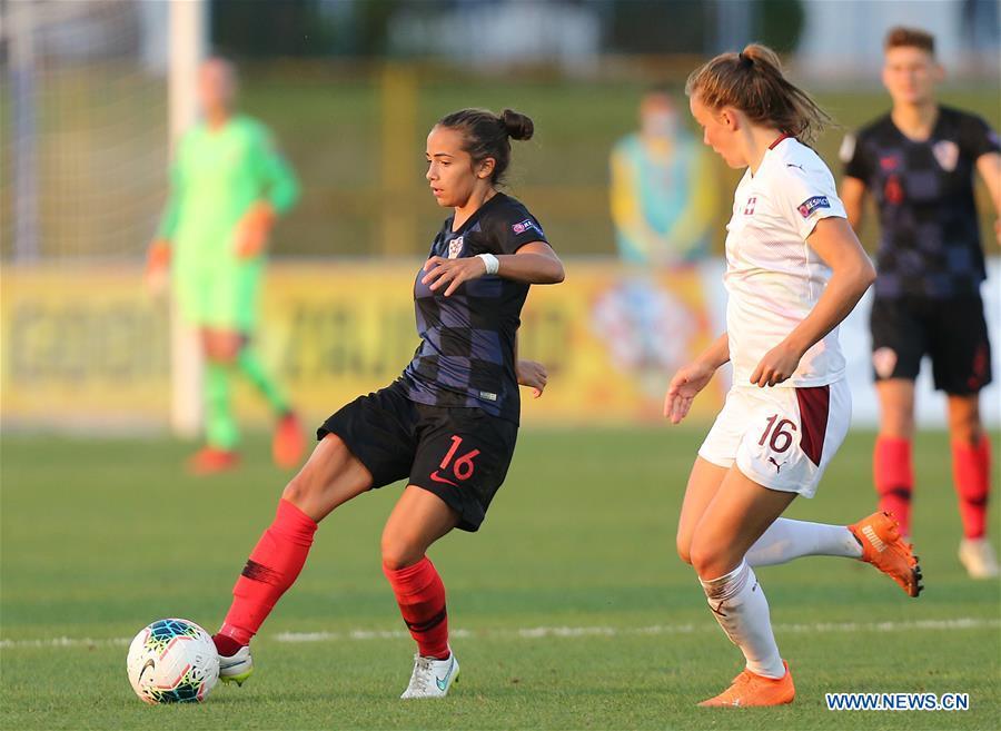 (SP)克罗地亚-萨格勒布-UEFA女子欧洲资格认证-CRO VS SUI