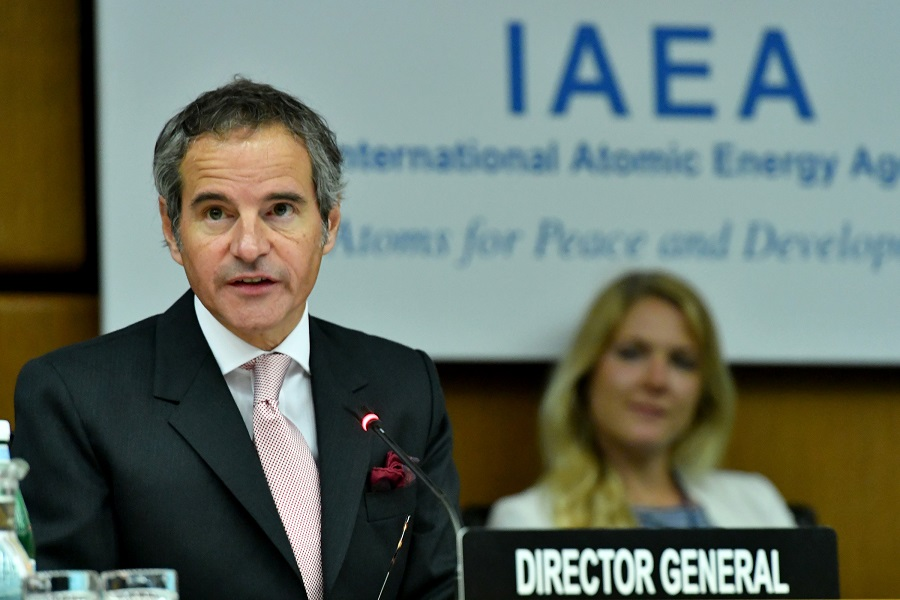 Fighting COVID-19 remains top priority for IAEA: chief