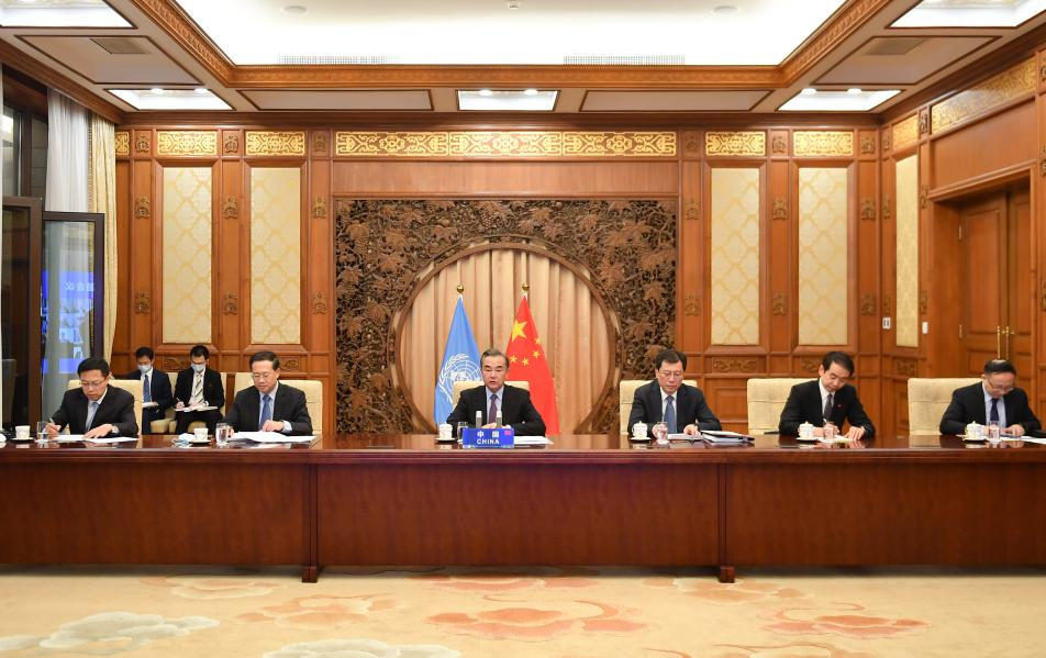 Chinese president's special representative proposes to improve global governance  - Xinhua | English.news.cn