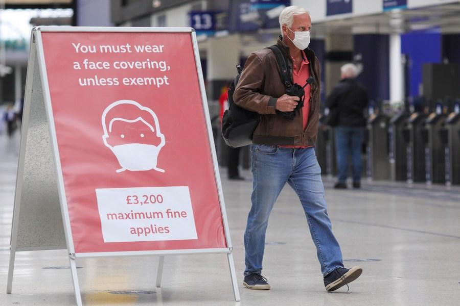 Roundup: More UK cities face lockdown as coronavirus cases continue to rise - Xinhua | English.news.cn