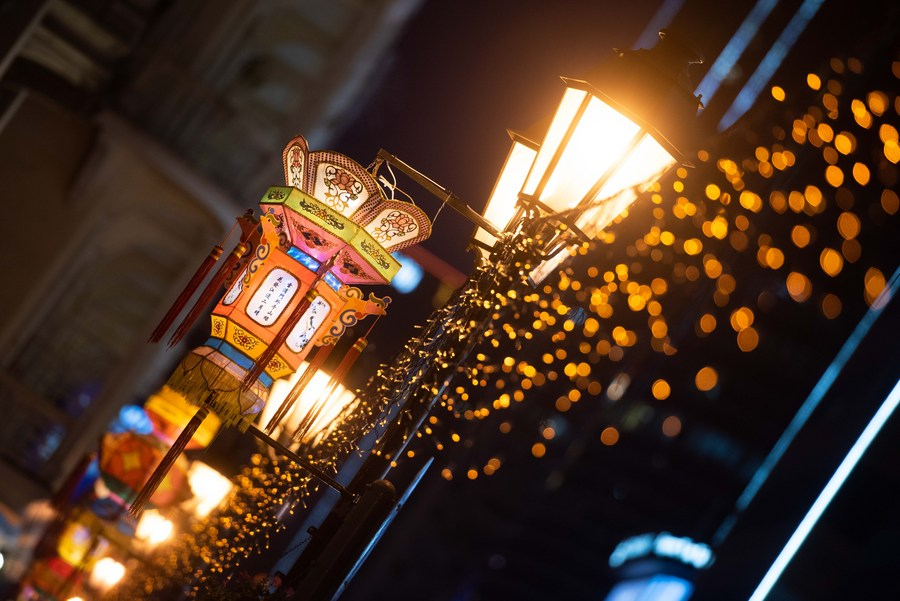 Asia Album: Explore Macao by light at night - Xinhua | English.news.cn