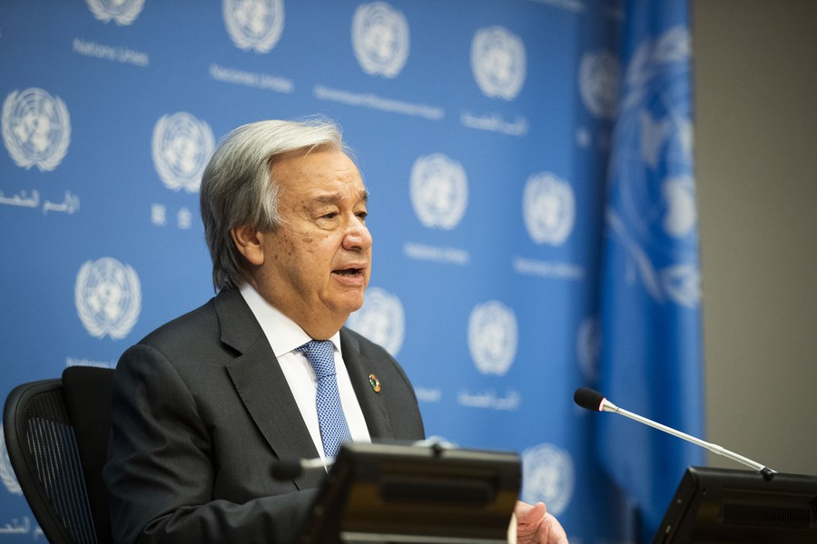 UN chief calls for further debt relief for developing countries amid COVID-19 - Xinhua | English.news.cn