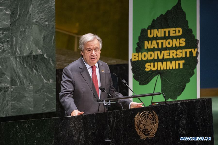 UNITED NATIONS-BIODIVERSITY SUMMIT-GUTERRES