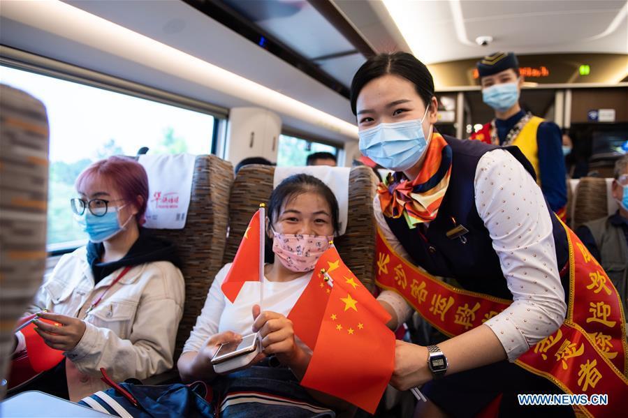 CHINA-HIGH-SPEED RAIL-NATIONAL DAY(CN)