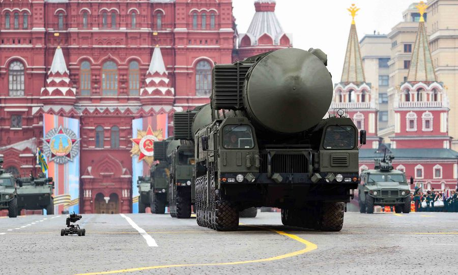 Russia says ready to continue dialogue with U.S. on arms control - Xinhua | English.news.cn