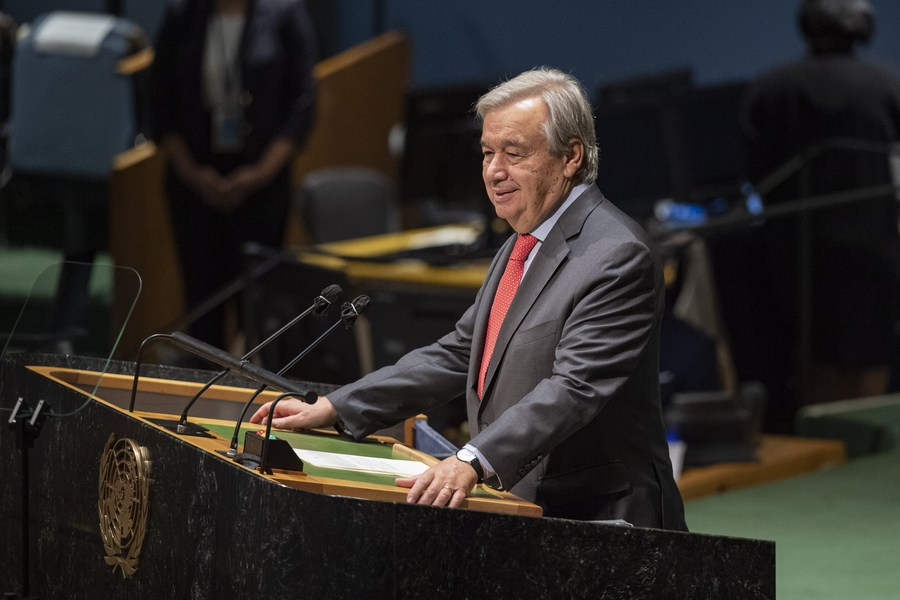 UN chief voices concern over geopolitical competition in and beyond ASEAN region - Xinhua | English.news.cn
