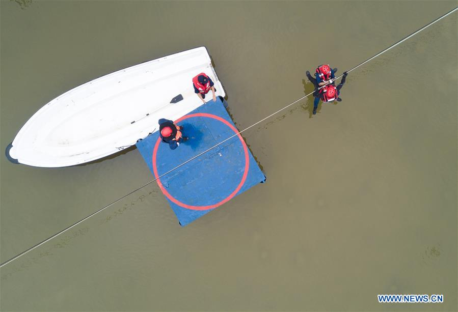 CHINA-FUZHOU-RESCUE SKILLS-COMPETITION (CN)