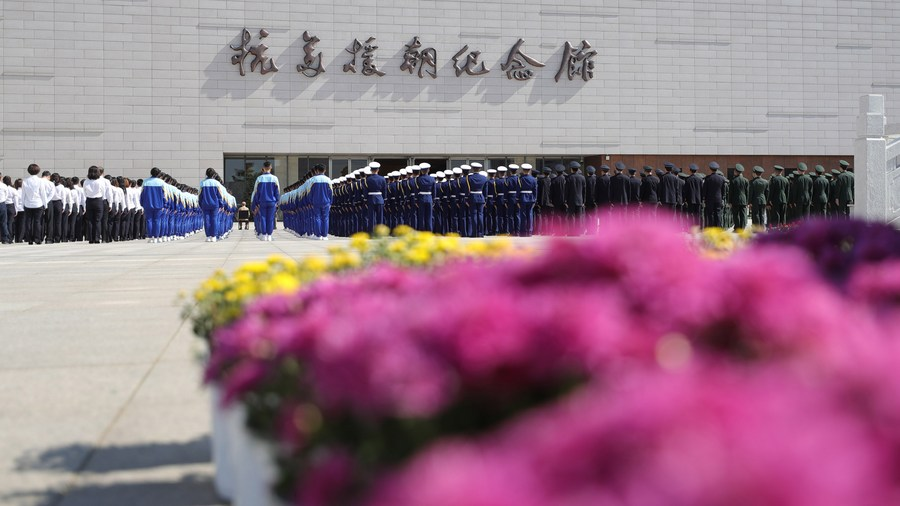 Pursuing hegemony, bullying lead nowhere: Xi - Xinhua   English.news.cn