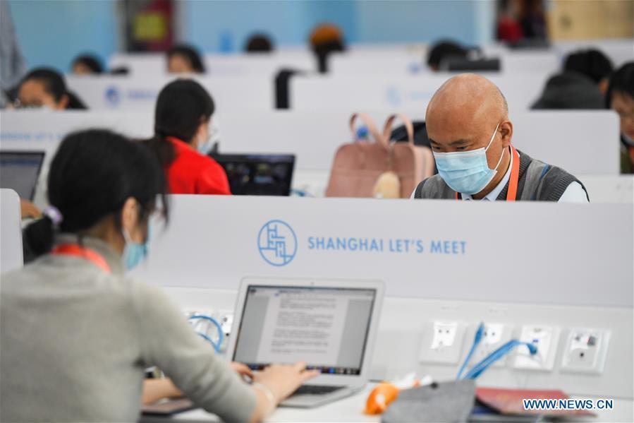 CHINA-SHANGHAI-CIIE-JOURNALISTS' DAY (CN)