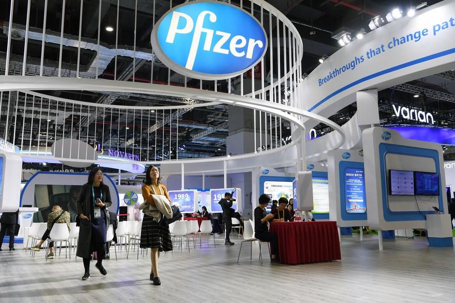 Spotlight Pfizer Biontech Announce Covid 19 Vaccine Candidate Over 90 Percent Effective Xinhua English News Cn