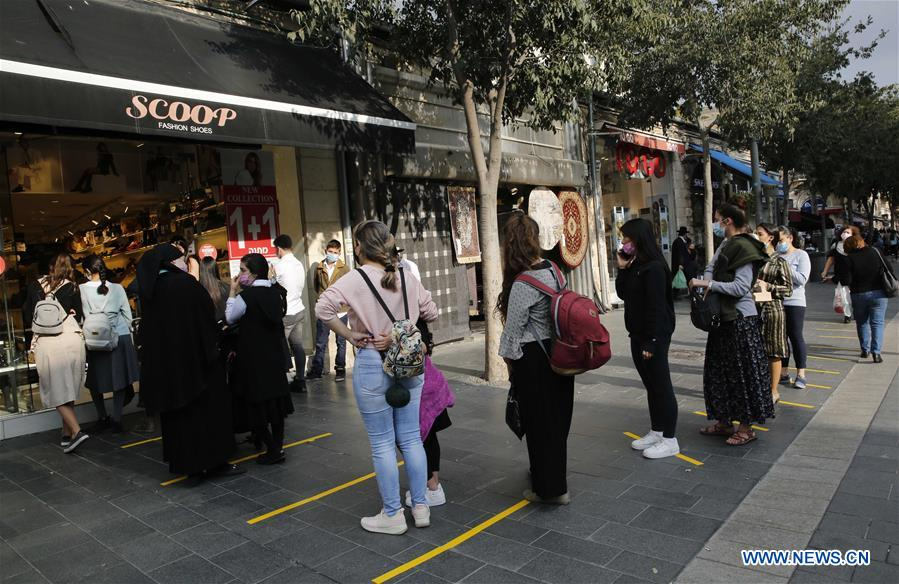 MIDEAST-JERUSALEM-COVID-19-STORES-OPENING
