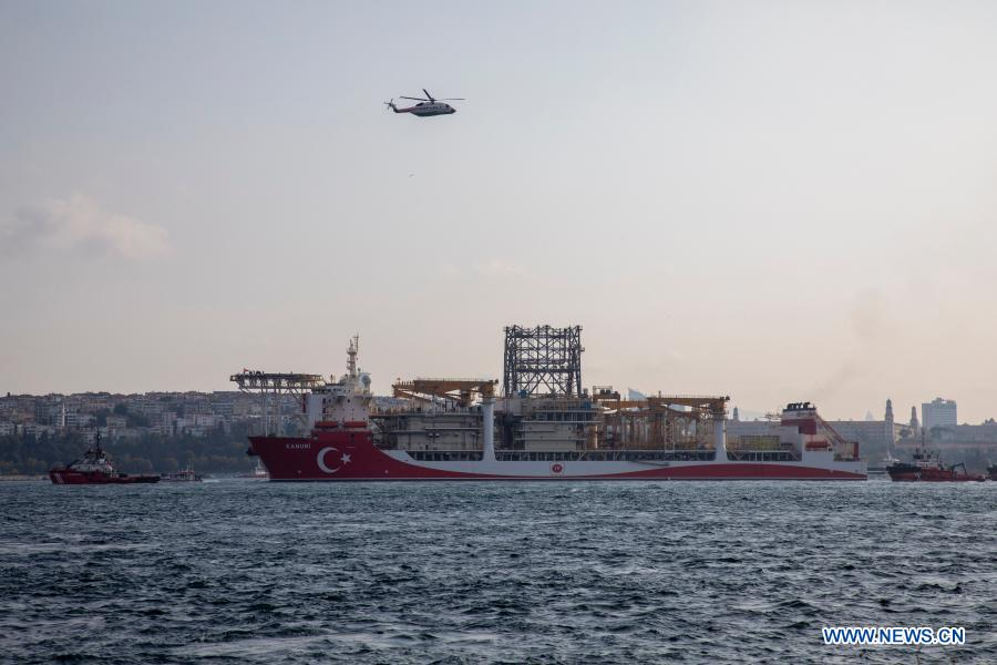 Turkey Sends Second Drillship To Black Sea For Mission Xinhua English News Cn