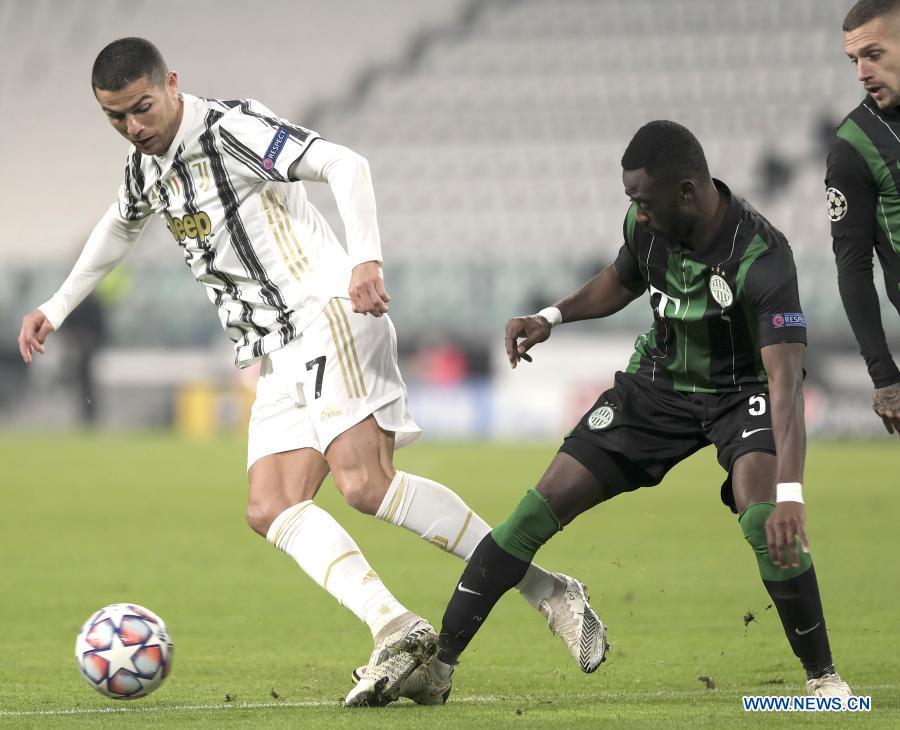 Uefa Champions League Juventus Vs Ferencvaros Xinhua English News Cn