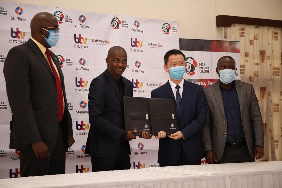 <b>StarTimes</b> announces broadcast deal with <b>Kenyan soccer</b> federation ...
