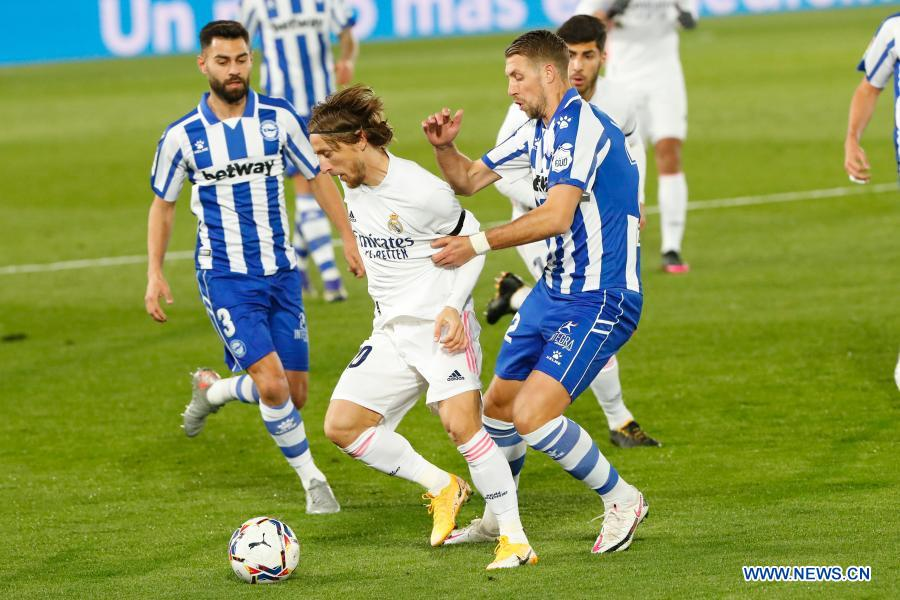 Real Madrid Lose Again As Alaves Raid Valdebebas Xinhua English News Cn