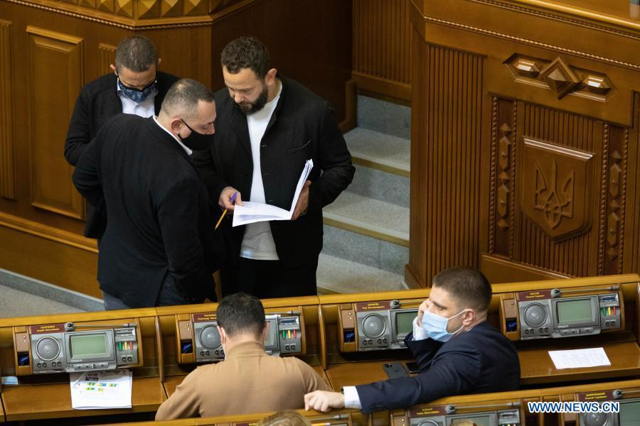 乌克兰议会批准2021年国家预算