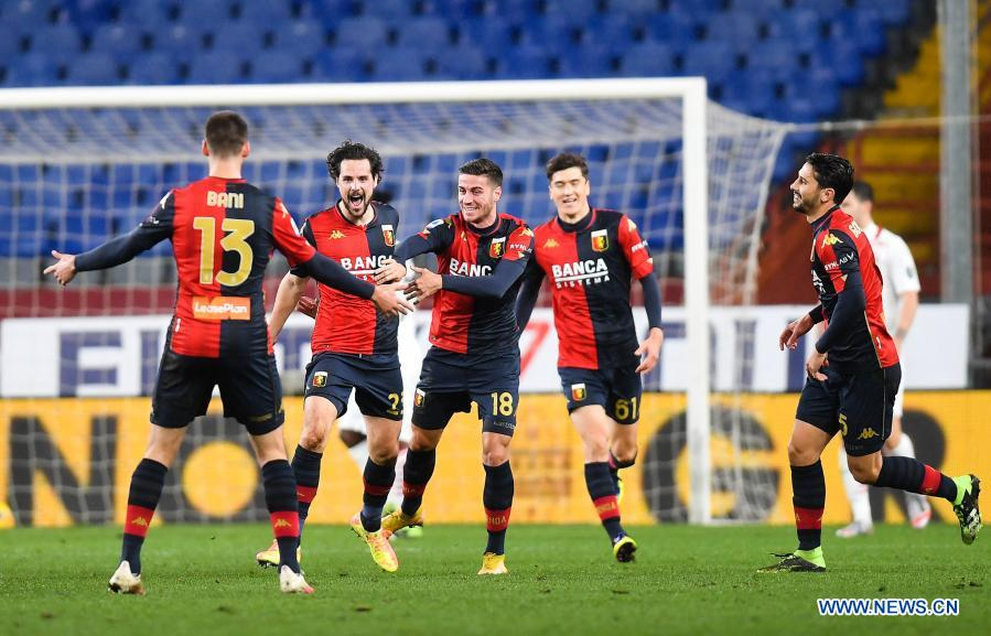 Serie A Genoa Vs Ac Milan Xinhua English News Cn