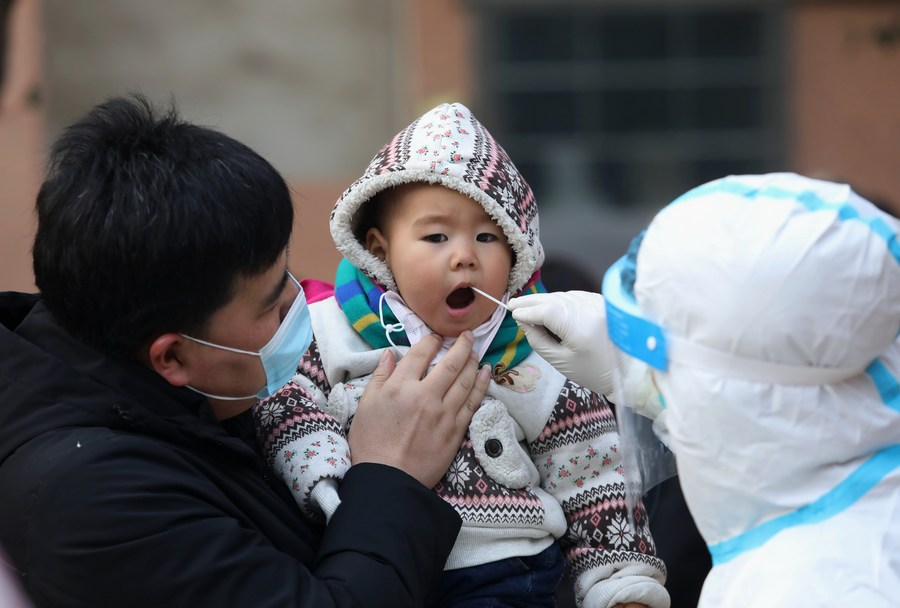 China Focus: China's megacity completes 3rd round of citywide COVID-19 testing - Xinhua   English.news.cn