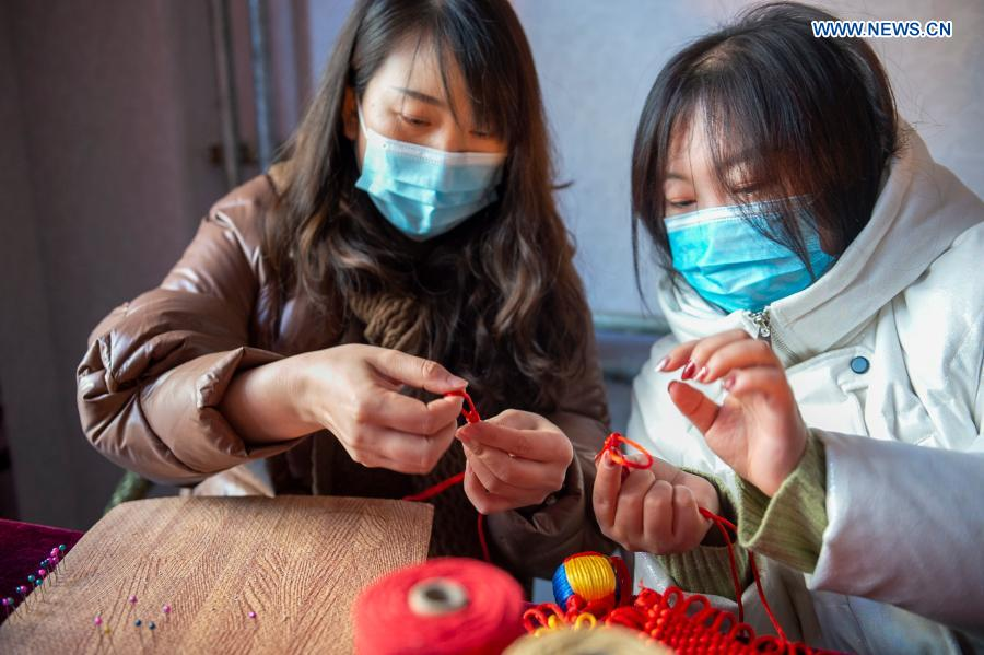 Pic Story of Intangible Cultural Heritage Inheritors in Yinchuan