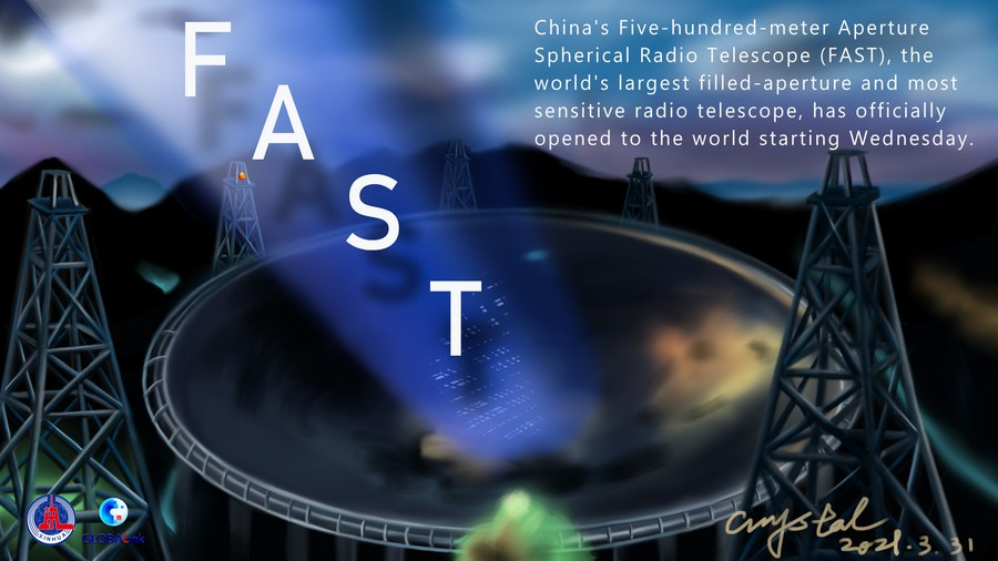 China's FAST telescope opens to global scientists - Xinhua   English.news.cn
