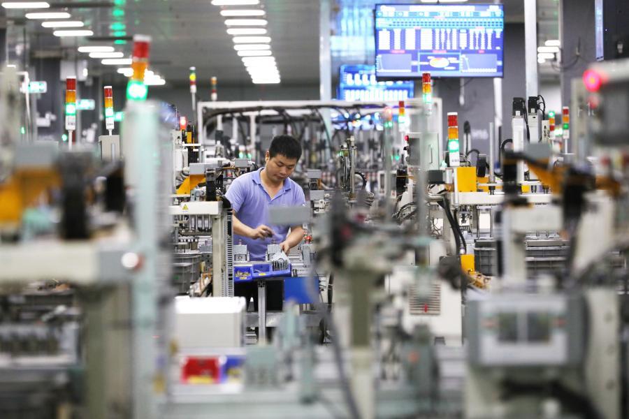 China's manufacturing heartland accelerates digital transformation - Xinhua | English.news.cn