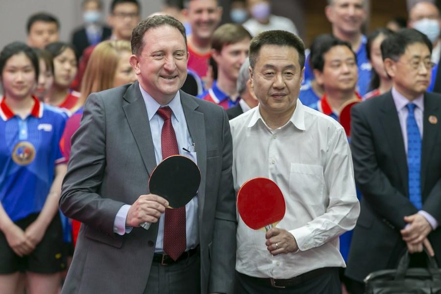 Economic Watch: Shanghai a pioneer in China-U.S. trade following ping-pong diplomacy - Xinhua | English.news.cn