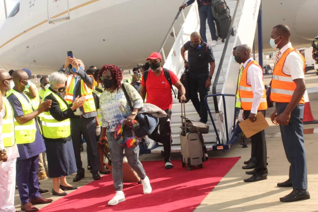 United Airlines resumes passenger flight service in Ghana - Xinhua | English.news.cn