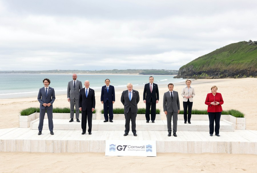 """Xinhua Headlines: Divided G7 wraps up summit with """"unforgivable moral failure"""" - Xinhua   English.news.cn"""