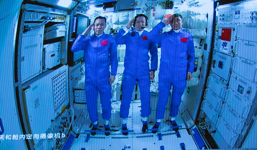 Space agencies congratulate China on manned mission - Xinhua   English.news.cn