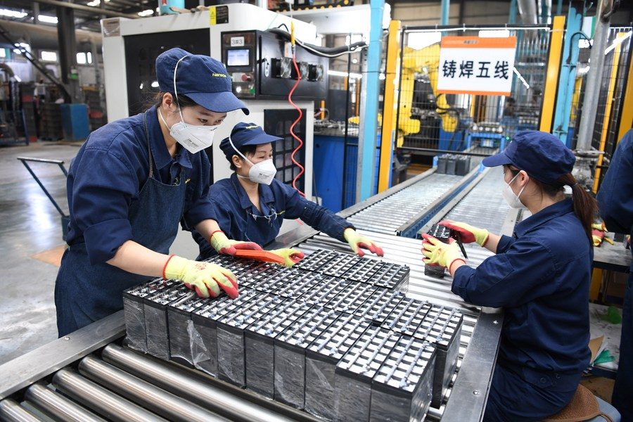 GLOBALink | Green Anhui: Waste battery helps build circular economy - Xinhua | English.news.cn