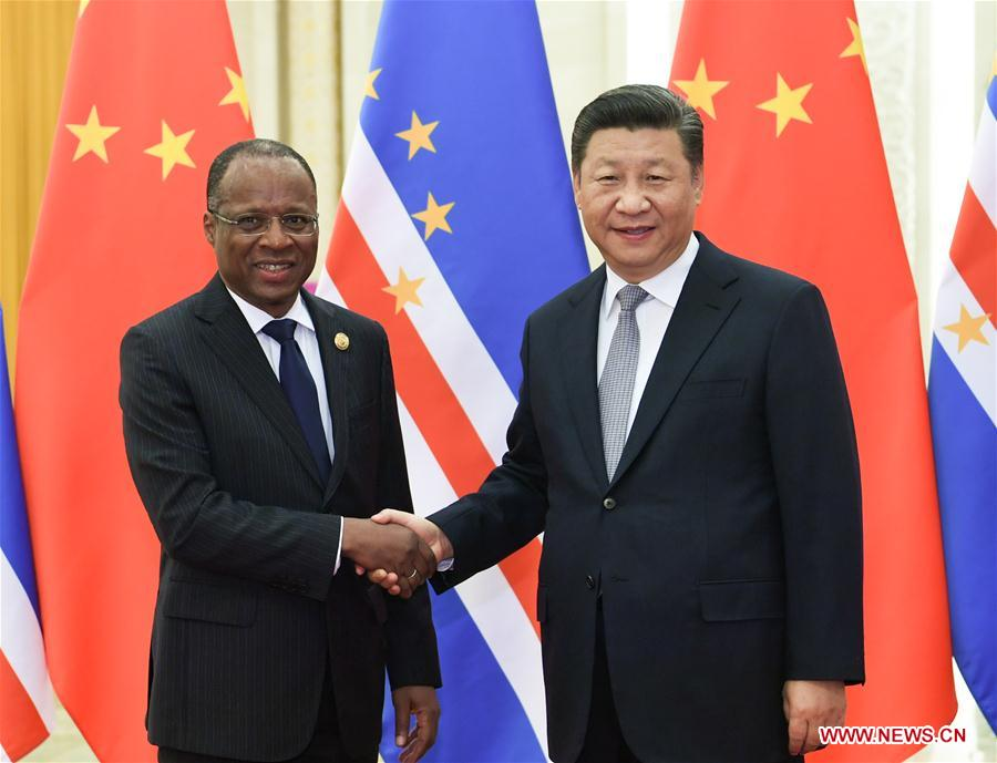 CHINA-BEIJING-XI JINPING-CAPE VERDE-PM-MEETING (CN)