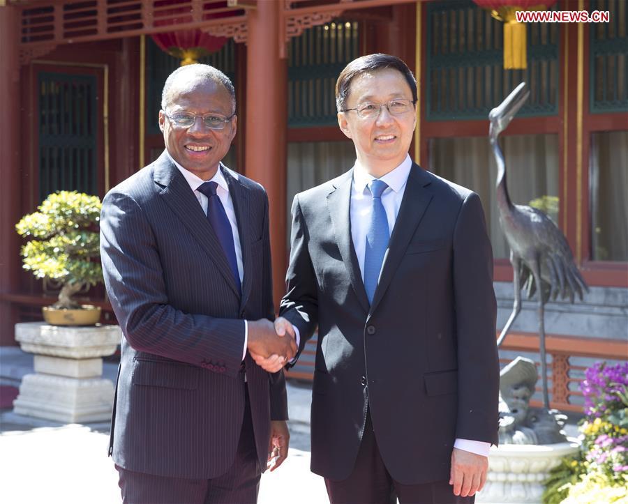 CHINA-BEIJING-HAN ZHENG-CAPE VERDE PM-MEETING (CN)